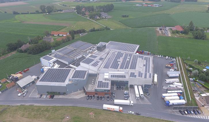 MR Solar Kipco Damaco Oostrozebeke SunPower zonnepanelen