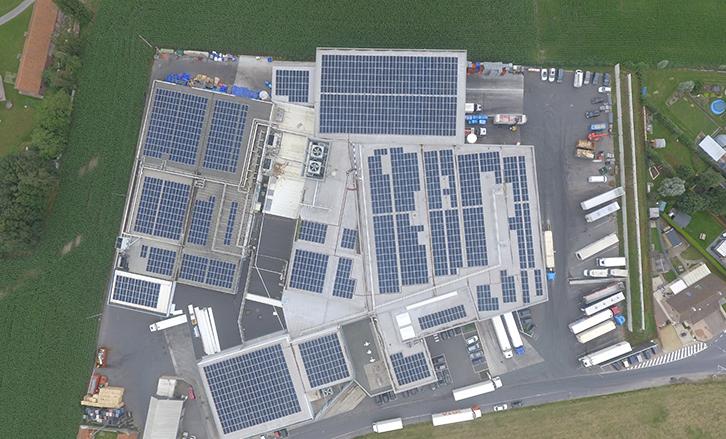 MR Solar Kipco Damaco Oostrozebeke SunPower panneaux solaires