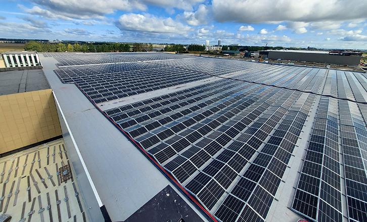 Luchthaven Schiphol-Industrie-MR Solar-Zonnepanelen